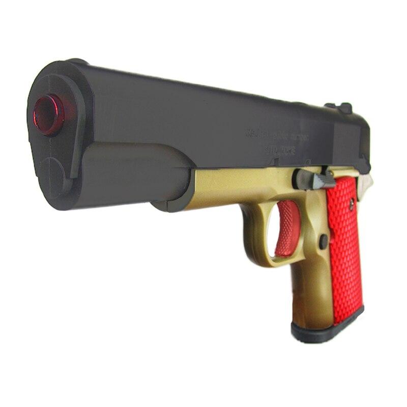 Jouets en plastique pistolet jouet pour garçons classique M1911 modèle fusil Airsoft arme ne peut pas tirer CS assaut Sports de plein air jeu enfants jouet