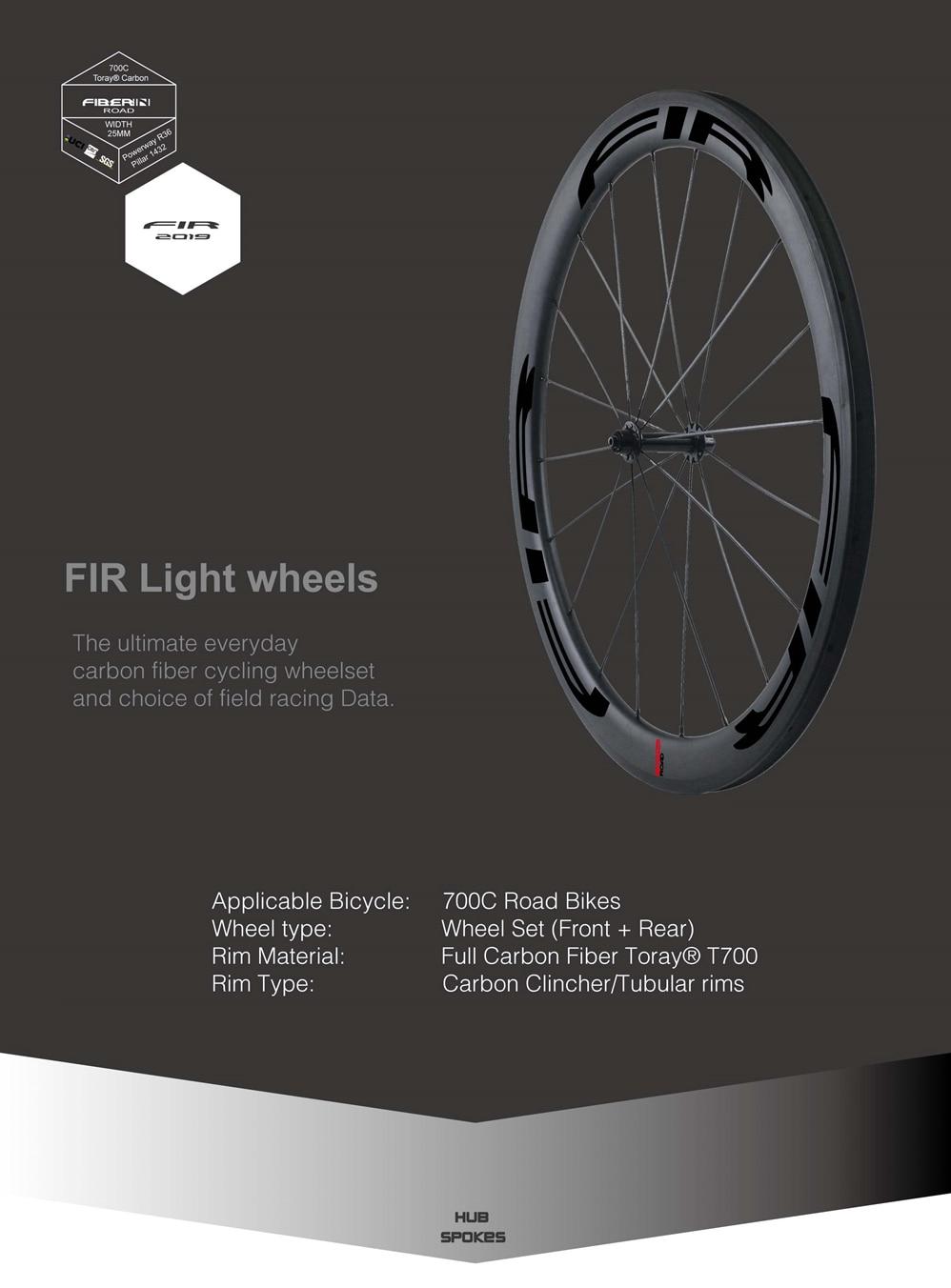 25mm Road bike wheels black-011_