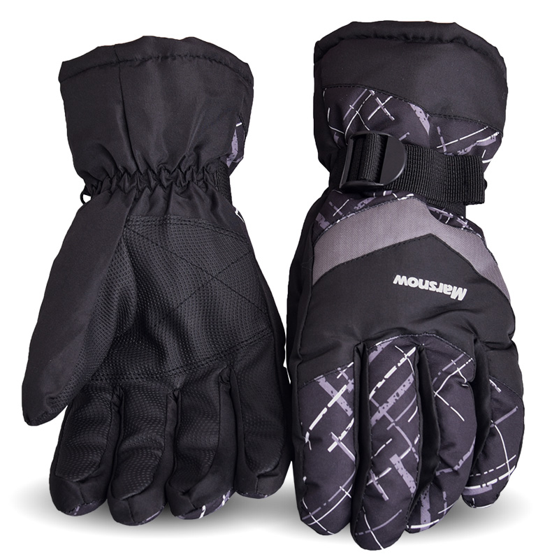 Marsnow Skiing Racing Gloves Snowboard Gloves Snowmobile Motorcycle Riding Winter Gloves Windproof Waterproof Unisex Snow Gloves