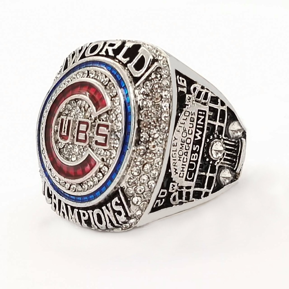 Drop shipping available 2016 Chicago Cubs World Series Championship Ring Size 6 15 For fans