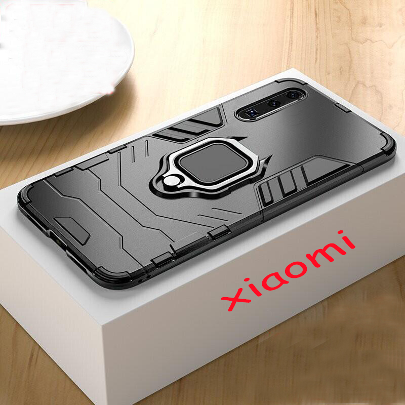 Luxury Magnetic Shockproof Car Ring Case On The For Xiaomi Redmi Note 7 6 Pro 5 4X Case For Redmi 4X 6X A2 5X A1 7 Silicone Case
