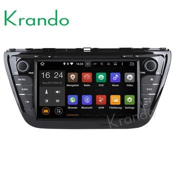 "Krando 8"" Android 8.0 car navigation multimedia system for SUZUKI SX4 S-CROSS 2013+ audio radio gps dvd player WIFI 3G DAB+"