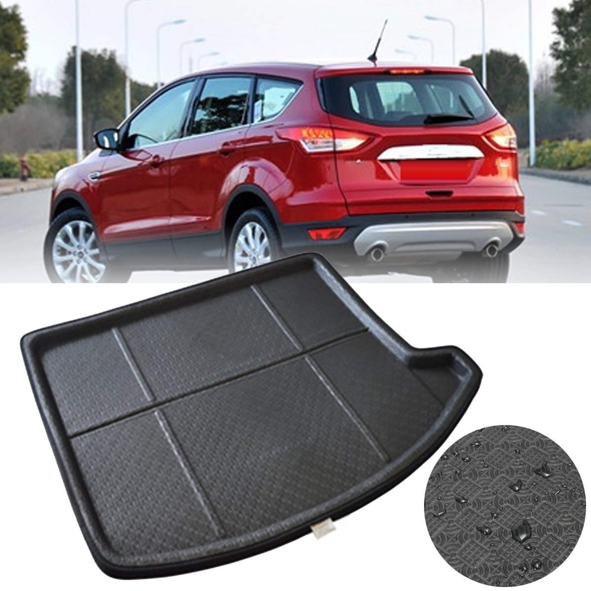 For Ford Escape Kuga 2013 2017 Rear Trunk Cargo Boot Liner