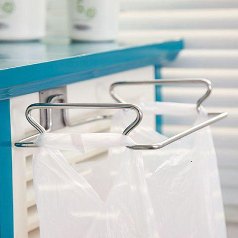Urijk Trash Bags Staffe Mobili Per La Casa Stracci Da Cucina Rack di Stoccaggio Cucina Spazzatura Cremagliera Accessori Da Cucina In Metallo di Alta Qualità