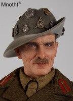 1/6 шкала Второй мировой войны BERNARD закон Монтгомери Набор Фигурки игрушки DID K80057 мужской солдат хобби с головой Sculpt коллекций m3
