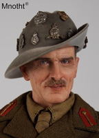 1/6 Scale WWII BERNARD LAW MONTGOMERY Set Action Figures Toys DID K80057 Male Soldier Hobbies With Head Sculpt Collections m3