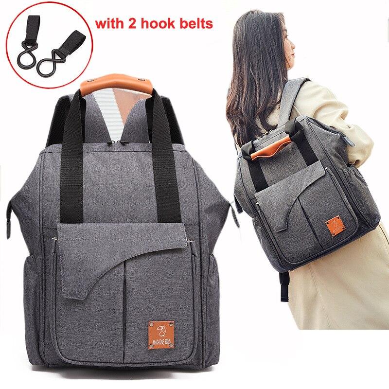 Nappy sac bébé sac à langer sac à dos Kits grande capacité imperméable momie maternité voyage soins infirmiers sac pour poussette Totes sac à main