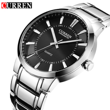 Relojes Hombre Curren Mens Watches Top Brand Luxury Stainless Steel Male Watches Clock Men quartz-watch Business Wrist Watch