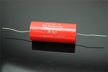 1Piece Audiophiler MKP-Kondensotor 400VDC 25uf  3% Audio Capacitor Free Shipping