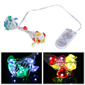 200CM Love Copper Wire String Lights LED Fairy Lights for Party Christmas Wedding Light High Quality