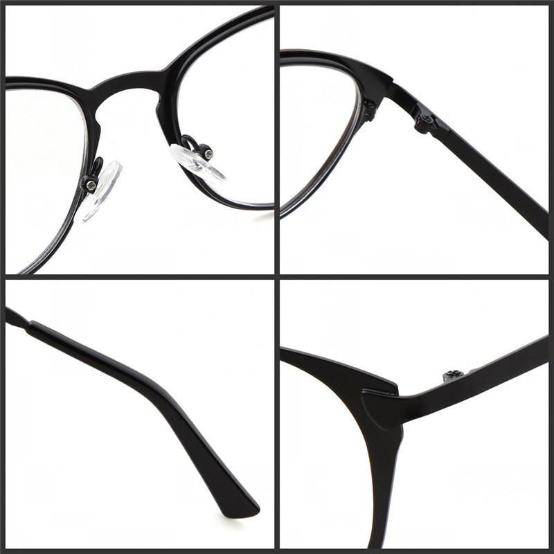 ec4c59853a2a Long Keeper Cat Eye Women Glasses Frame 2018 Hot Sale Mens Eyeglasses  Reading Optical Frames Clear lens Metal Eyewares P5317-in Eyewear Frames  from Women's ...