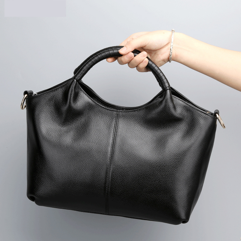 2016 New Narural Genuine Leather Women Bags Famous Brand Handbags Ladies Casual Messenger Bags Shoulder bags Crossbody Bags 100% genuine leather women bags famous brand women messenger bags first layer cowhide shoulder bags women ladies handbags