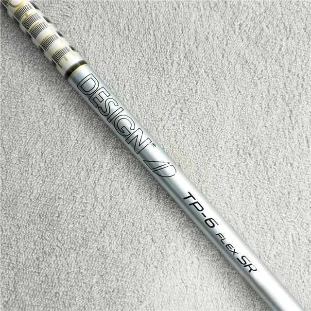 Новый Мужской Гольф Вал Тур AD TP-6 деревянный вал для гольфа 2 шт./лот приводной вал для гольфа R S flex 0,335 или 0,350 размер наконечника графитовый Вал