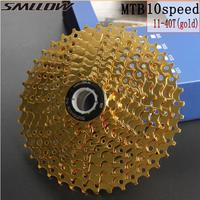 SUNSHINE SZ 11 40T 10Speed Cassette 10 s Gold Freewheel MTB Mountain Bike Bicycle Steel Golden Sprockets for parts System|Bicycle Freewheel| |  -