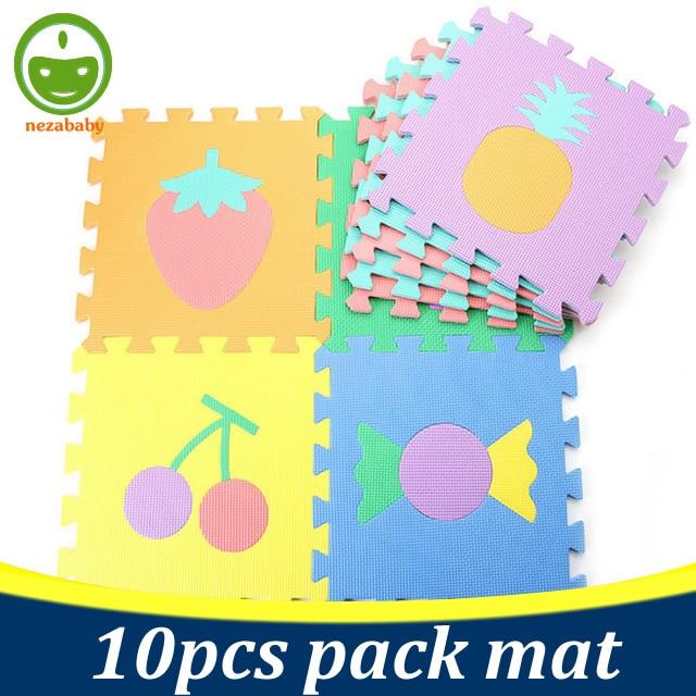 10PCS EVA Foam Puzzle Mat Foam Baby Floor Mat Baby Jigsaw Puzzle Mat Baby Carpet Kids Animals Fruit Digits Jigsaw Toys PX07 ...