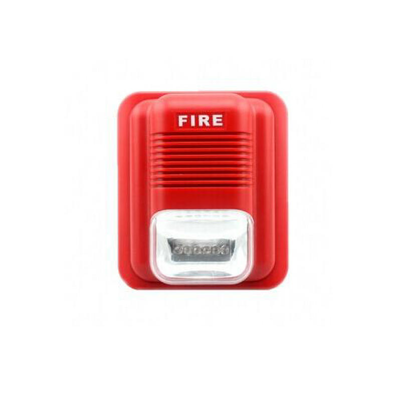 1Pcs 24V SF-X104 Security Fire Audible and Visual Alarm Fire Detecting Instrument аккумулятор security force sf 1212