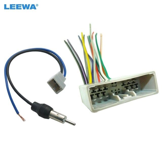 Brilliant Leewa Car Cd Player Radio Audio Stereo Wiring Harness Adapter Plug Wiring 101 Orsalhahutechinfo