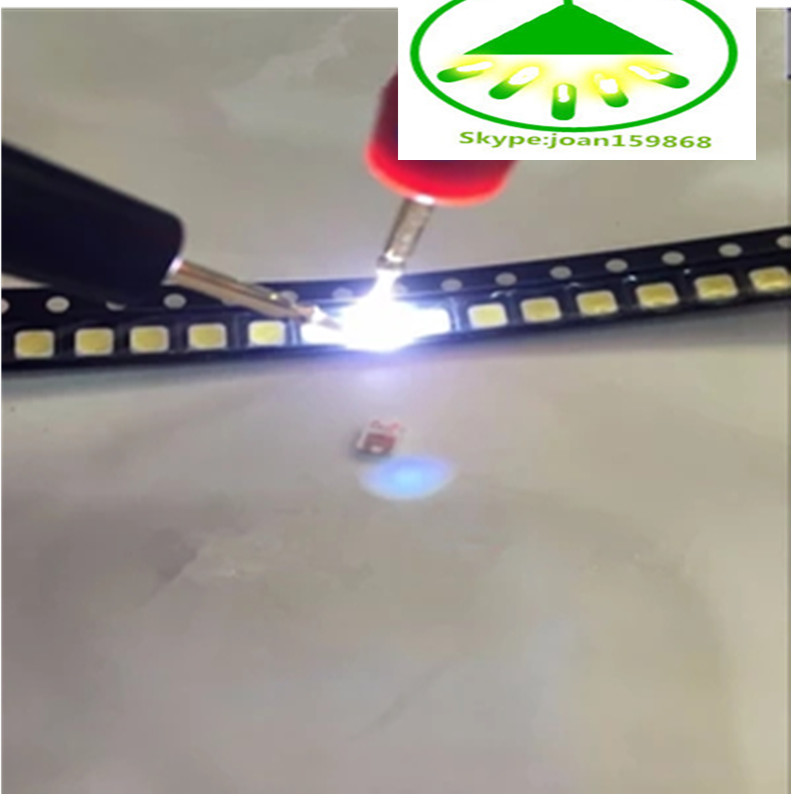 100PCS 2828 3228 LED SMD TV Backlight 3V 1W 350MA  LED Beads Cool White For Samsung SPBWH1320S1EVC1B1B Free Shipping