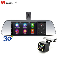 Junsun 7″ Special 3G Car DVR Camera Mirror Android 5.0 with GPS Dual Lens 1080P Automobile DVRs Dash Cam mirror Video Recorder