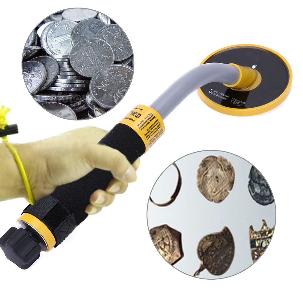 Handheld Metal Detector High Sensitivity Underwater m Waterproof Pulse Induction Metal Detector