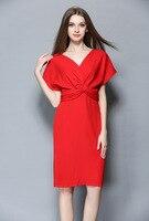 OKOUFEN Boho Floral Print Chiffon Split Long Dress Women Selegant Summer V Neck Kimono Sexy Dress