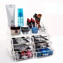 Verfassungsorganisator Kosmetik Aufbewahrungsbox Acryl Schmuck Organizer Cosmetic Speicherfächer