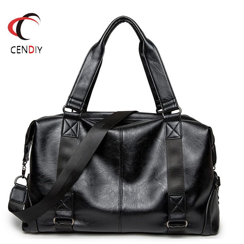 Fashion PU Leather Briefcases Male Laptop Handbag Men's Business Crossbody Bag Brand Casual Messenger Shoulder Bags For Men Bag