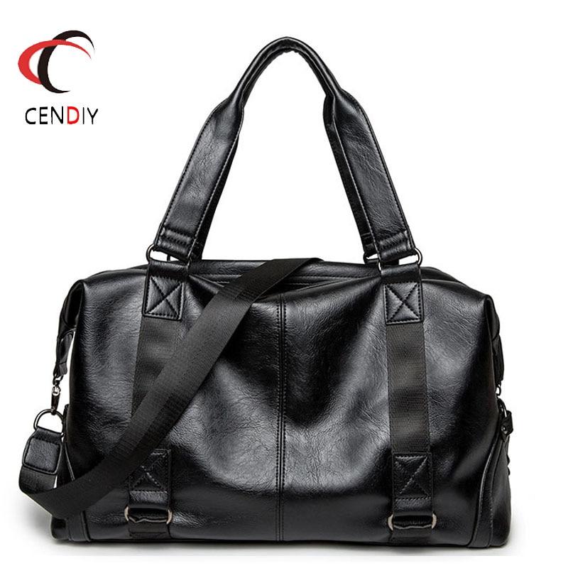 Fashion PU Leather Briefcases Male Laptop Handbag Men's Business Crossbody Bag Brand Casual Messenger Shoulder Bags For Men Bag