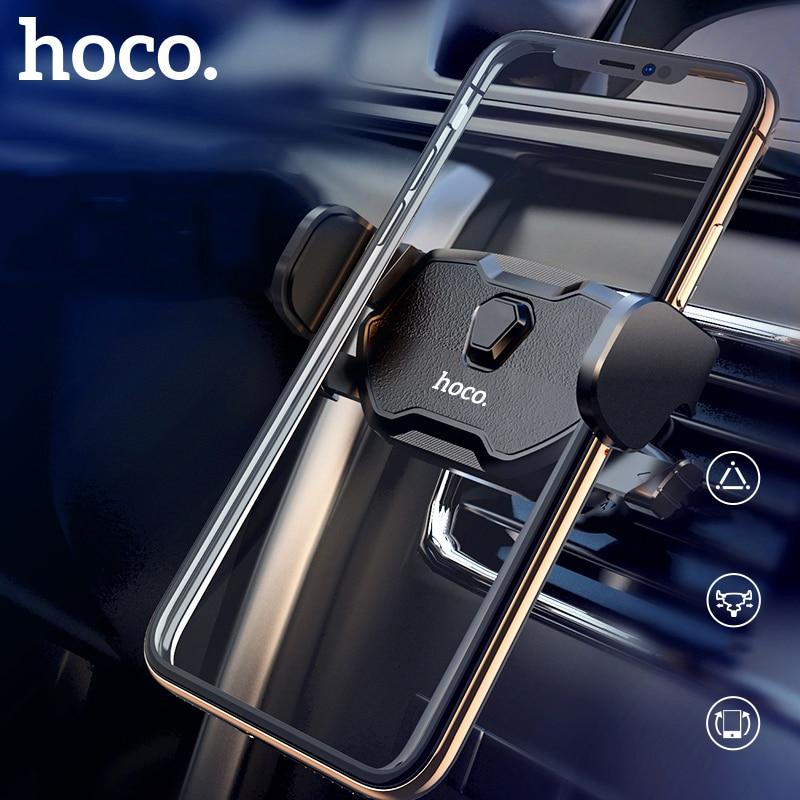 HOCO autós telefontartó állítható légtelenítő tartótartó - Mobiltelefon alkatrész és tartozékok