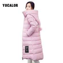 Winter Coat Female Warm Quilted Hooded Jacket Long Parka Ladies Coats Outerwear For Women Anorak Large Sizes Ukraine Snow Wear(China)