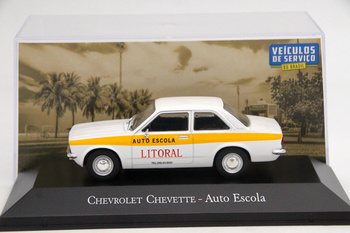 Altaya IXO 1:43 For Chevrolet Chevette Auto Escola Diecast Models Toys Car Collection Gifts image
