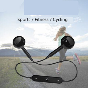 Image 5 - Bluetooth אלחוטי אוזניות עם מיקרופון עמיד למים ריצה אוזניות HD אוזניות סטריאו עבור אימון כושר Auriculares sh *