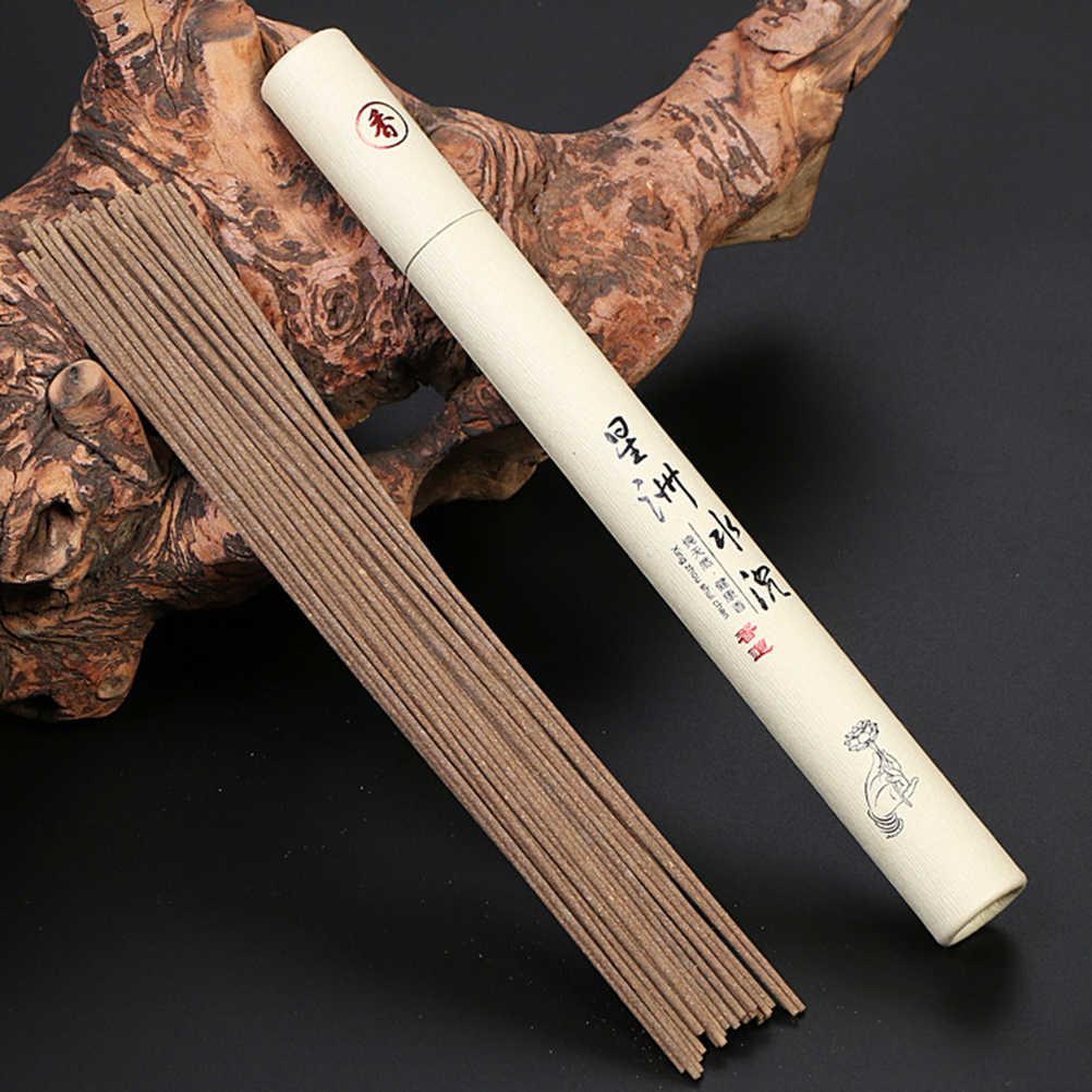 ใหม่ 21 ซม.20g/หลอดLaoshanไม้จันทน์ธูปหอมธรรมชาติWormwoodธูปStickในร่มดีสำหรับSLEEPสุขภาพ