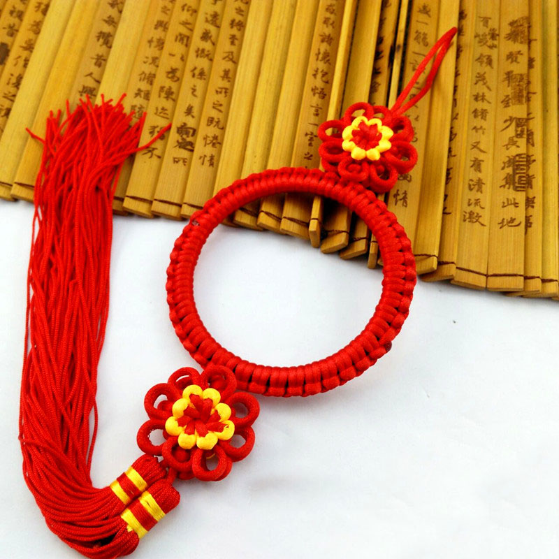 Chinese Knot Pendant Fringe Tassel 10 pcs Diy Small Tassels New Year Gift Spring Festival Decorative