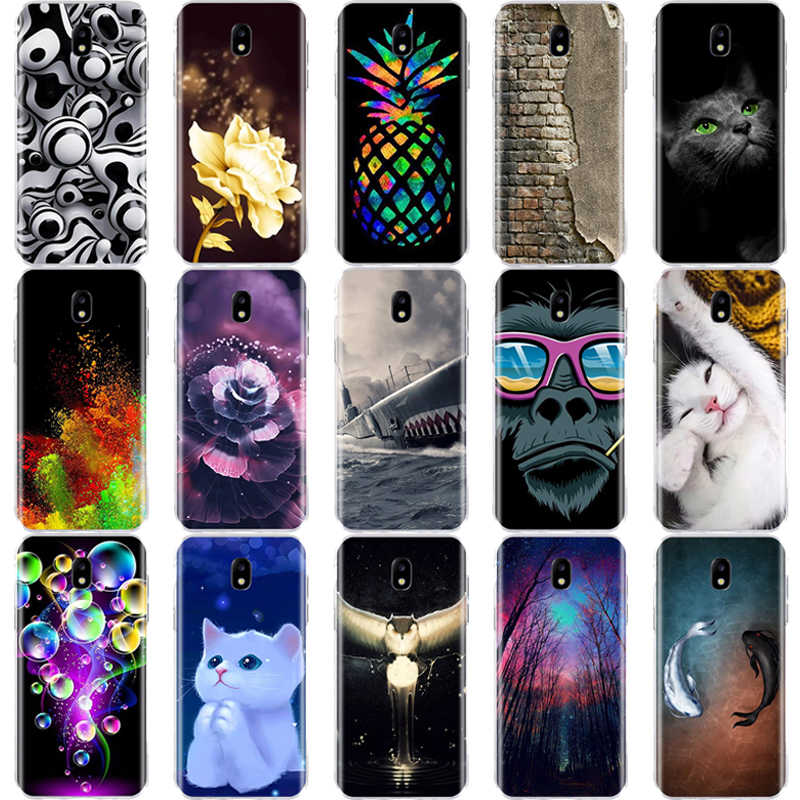 For Samsung Galaxy J3 J5 J7 A3 A5 2017 / J3 J5 J7 Pro Case Soft Silicon Bag Cover 3D For Samsung J3 J5 J7 A3 A5 2017 Phone Cases