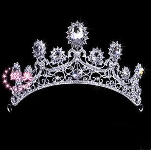 Headpiece Wedding Hair Accessories Tiaras And Quinceanera Crowns Hair Jewelry Bridal Jewelry Luxury Crown B25 ABC