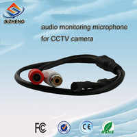 SIZHENG SIZ-110 CCTV microphone security system sound pick-up low noise mic surveillance device for ip camera