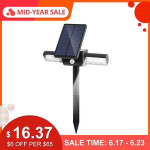 CLAITE LED Solar Outdoor Water