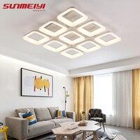Modern Acrylic Design Led Ceiling Lights Bedroom Living Room Light Deckenleuchten Luminarias Fixtures Ceiling Lamp