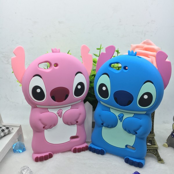 Aliexpress Buy New ZTE Blade S6 Case Luxury Lilo Stitch Cute Cartoon 3D Soft Silicone Cover For Fundas 5 Inch Cell Phone From