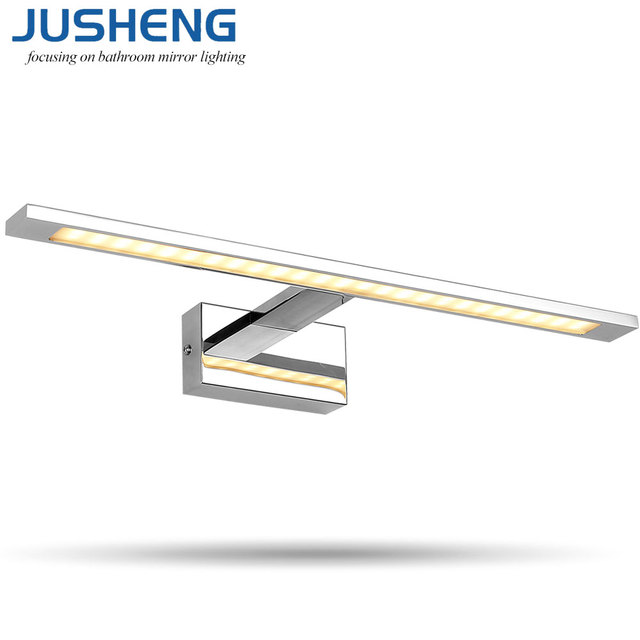JUSHENG LED Wall Lights Indoor Modern 10W 14W 20W 24W Chrome ...