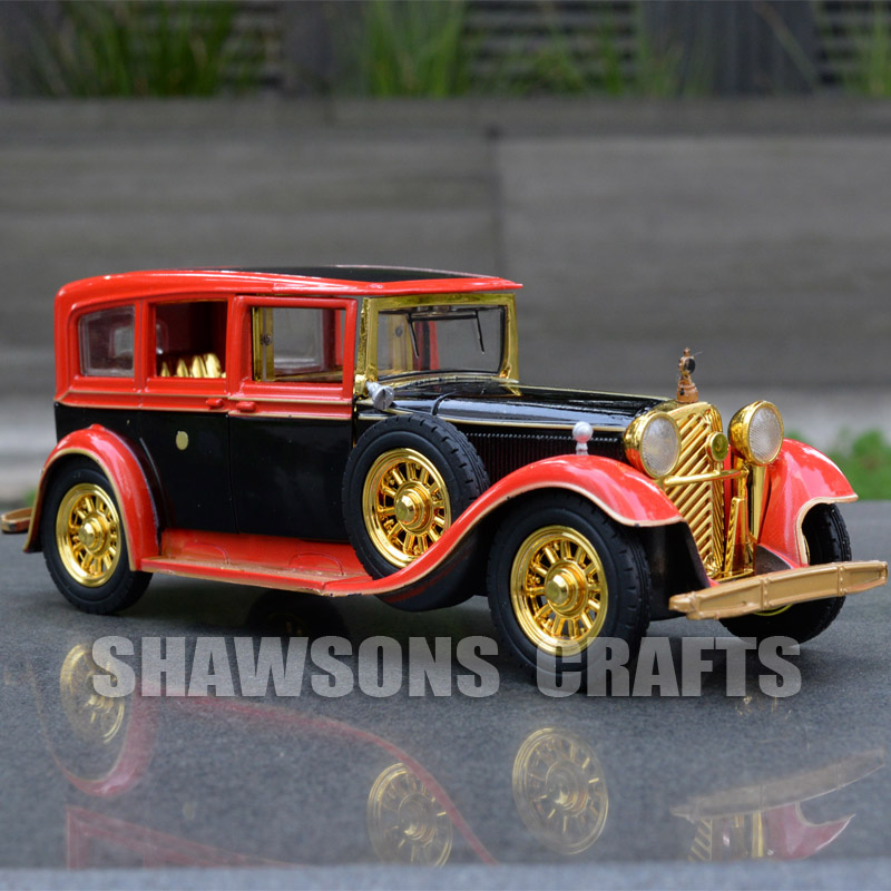1 32 Diecast Metal Car Model Toys Vintage Rolls Royce