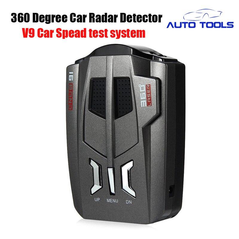 Авто радар-детектор V9 Радар русский и английский Голос оповещения Предупреждение системы автомобиля-детектор