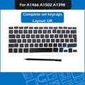 جديد AP11 غرار Keycap مجموعة المملكة المتحدة الفرنسية الإسبانية الروسية الألمانية البرتغالية السويسري المجرية ل ماك بوك اير برو الشبكية A1466 A1502 ...