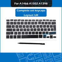 Nouveau ensemble de clés AP11 UK français espagnol russe allemand Portugues suisse hongrois pour Macbook Air Pro Retina A1466 A1502 A1398