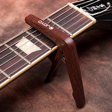 JOYO JCP-01 Colorful Plastic Guitar Capo for 6 String Guitars Black Silver Wood colors with picks guitarras  Free ship