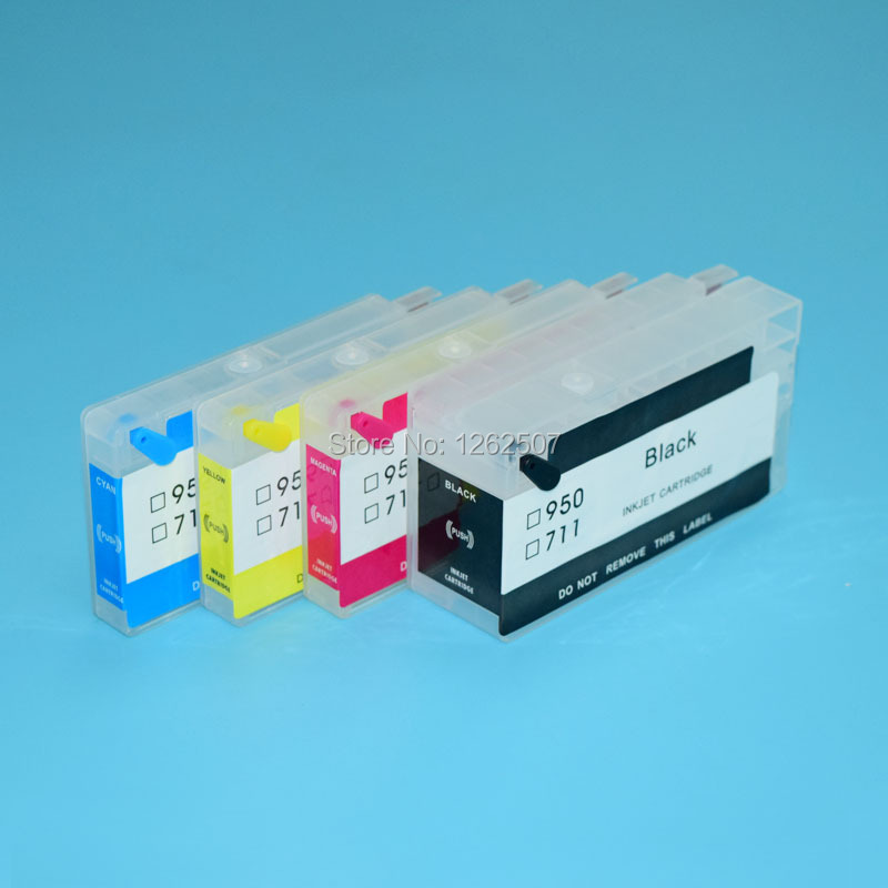 HP950XL HP951XL For HP Officejet Pro 8610 8620 8630 8640 8660 8615 8625 Printer For hp 950 Refill ink cartridges with arc chip