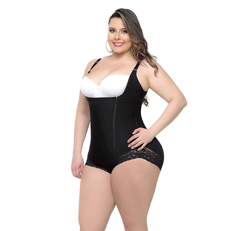 Plus Size Shapewear Tummy Shaper Control Panties Corrective Underwear Big Size Waist Corset Slimming Briefs Butt Lifter
