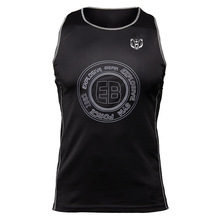 Black fitness mens vest 2019 summer gyms sporter jogger bodybuilding fashion brand exercise clothing