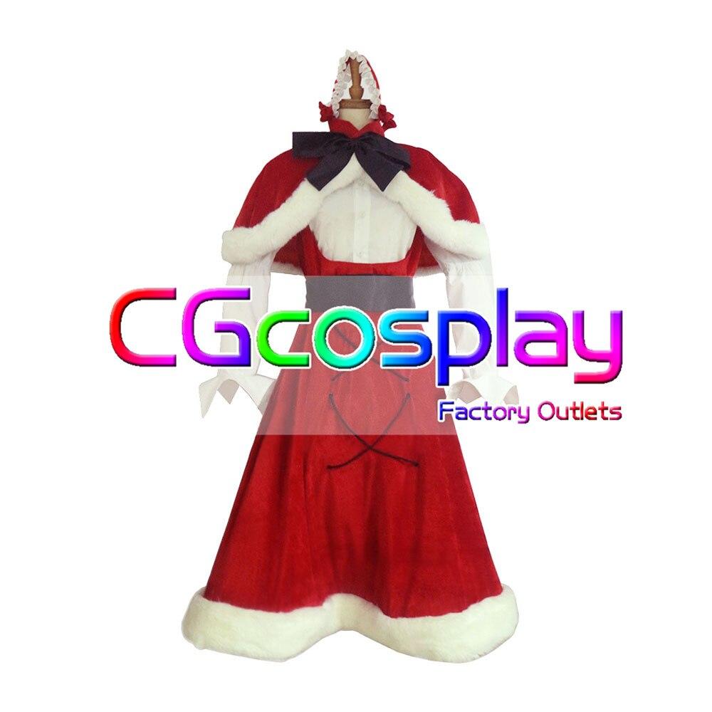 Cgcos express! Трусики и чулки с Garterbelt COS форма аниме Косплэй костюм рождественские костюмы на Хэллоуин полный комплект новый